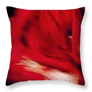 Throw Pillow featuring the photograph Flamenco Series 32 by Catherine Sobredo