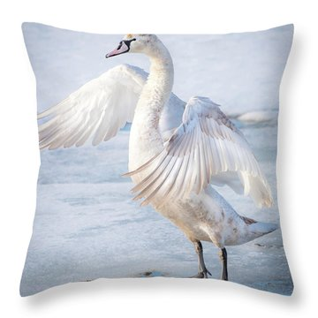 Flappin... Throw Pillow