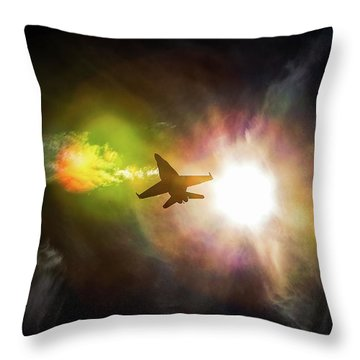 Flare For The Dramatic Throw Pillow