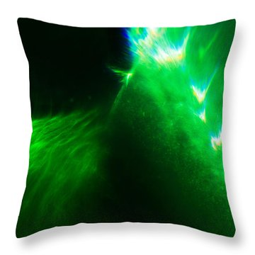 Throw Pillow featuring the photograph Flare by Greg Collins