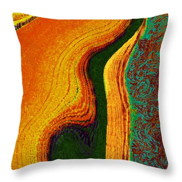 Flat Art Throw Pillow