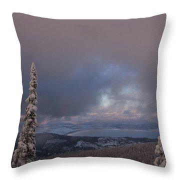 Flathead Winter 2016 Throw Pillow
