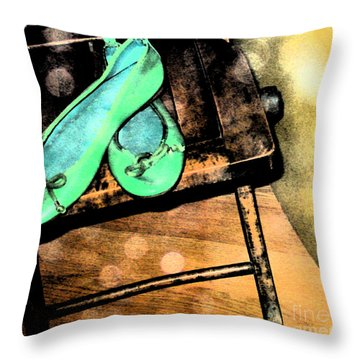 Flats Throw Pillow by Gary Everson