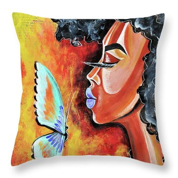 Flawed Throw Pillow