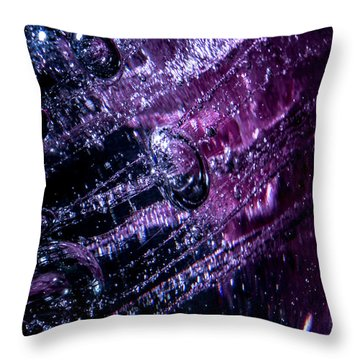 Throw Pillow featuring the photograph Flee by Eric Christopher Jackson