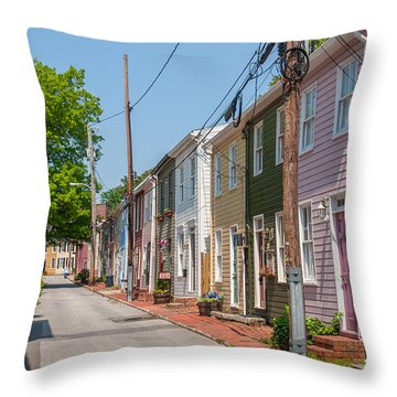 Fleet Street Throw Pillow
