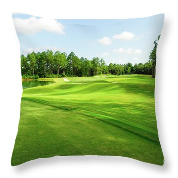 Fleming Island Golf Club Throw Pillow
