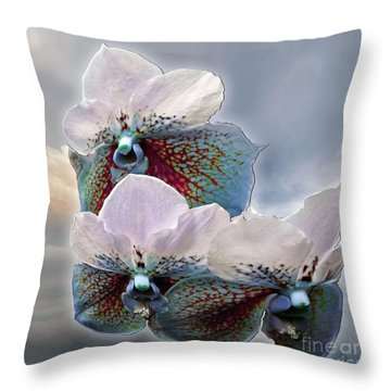 Fleur De Celeste Throw Pillow