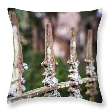 Fleur De Lis Finial Throw Pillow
