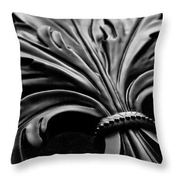 Fleur De Lis II Throw Pillow