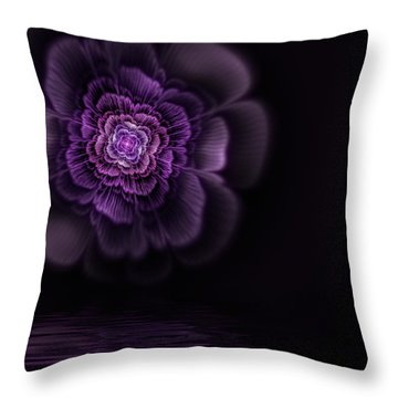 Fleur Throw Pillow by John Edwards