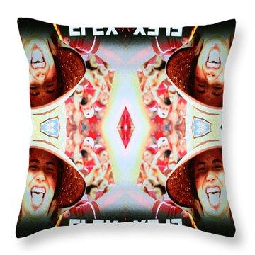 Flexcam 3 Throw Pillow