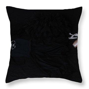 Flight Of A Ballerina Throw Pillow