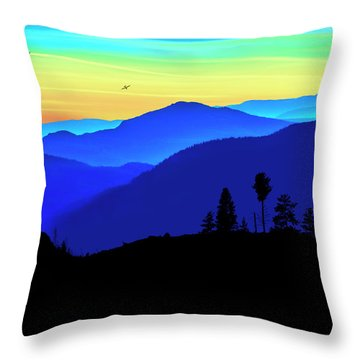 Throw Pillow featuring the photograph Flight Of Fancy by John Poon