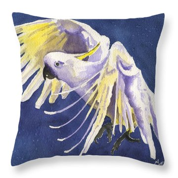 Cockatoo Throw Pillows
