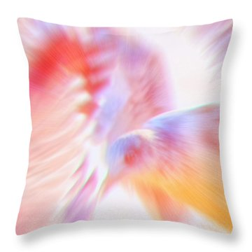 Flight Of The Seagull  Throw Pillow