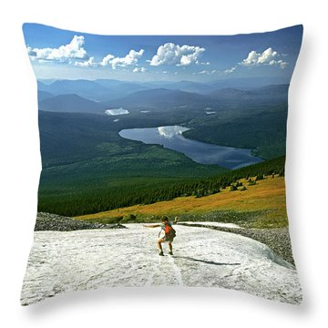 Flight Risk Throw Pillow