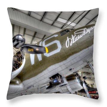 Flight Time Throw Pillow