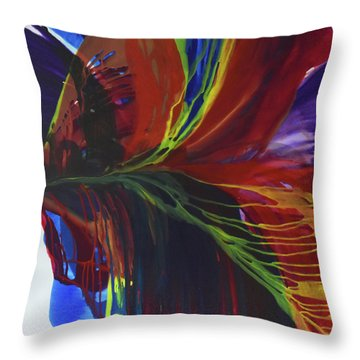 Flight To Freedom Throw Pillow