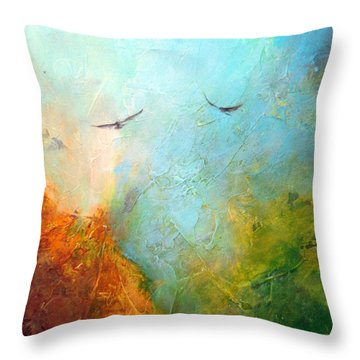 Flights Of Fancy Throw Pillow