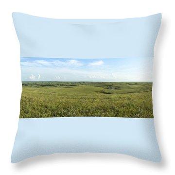Flint Hills Throw Pillow