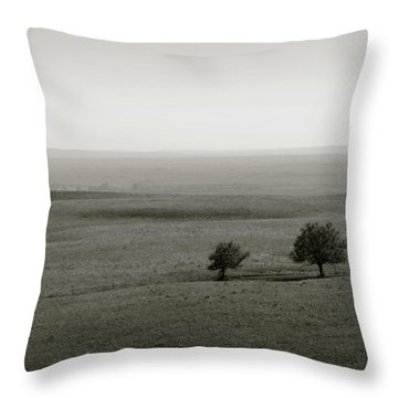 Flint Hills Vistas Throw Pillow
