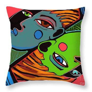 Flip Side Throw Pillow