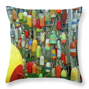 Float Wall Throw Pillow