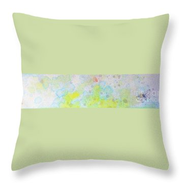 Floating 12030008fy Throw Pillow