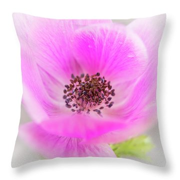 Floating Throw Pillow by Caitlyn Grasso