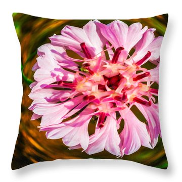 Floating In Time Throw Pillow