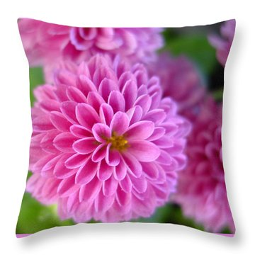 Floating Throw Pillow by Kathy Bucari