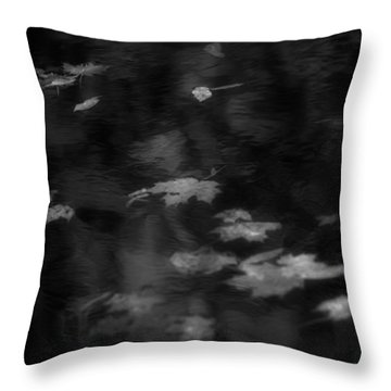 Floating Leaves 2 Throw Pillow