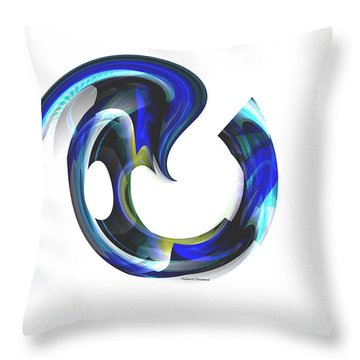 Floating Life Throw Pillow by Thibault Toussaint