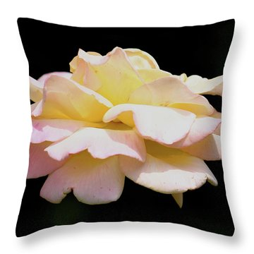 Floating Rose 3894 Throw Pillow