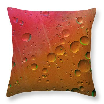 Floating Worlds Throw Pillow