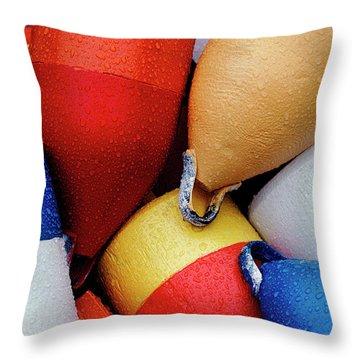 Floats Throw Pillow