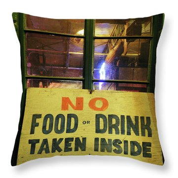 Throw Pillow featuring the photograph Floores Country Store And Dance Hall by Joe Jake Pratt