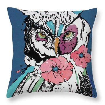 Flora 2 Throw Pillow