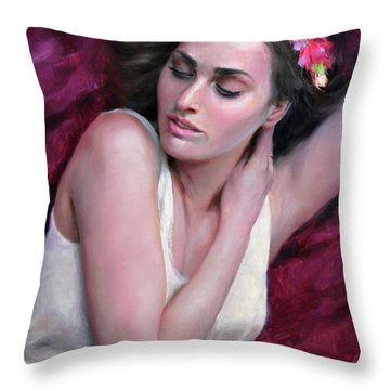 Maiden Throw Pillows