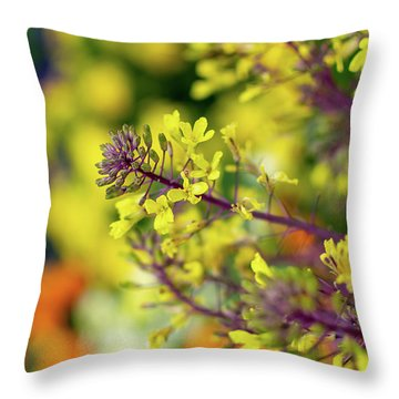 Flora Flora Flora Throw Pillow