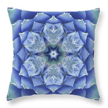 Flora Muse Mandala Throw Pillow