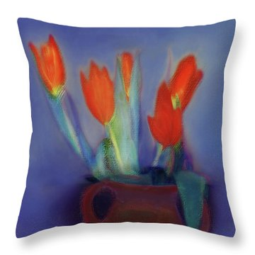 Floral Art 17 Throw Pillow