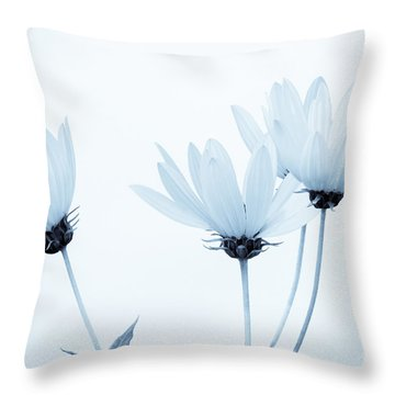 Floral Elegance Throw Pillow