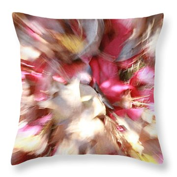 Floral Explosion No1 Throw Pillow