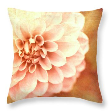 Floral Impressions Throw Pillow by Melanie Alexandra Price