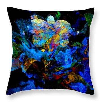 Floral Phantom Throw Pillow