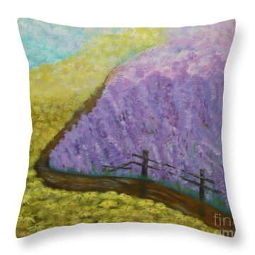 Floral Rhapsody Throw Pillow