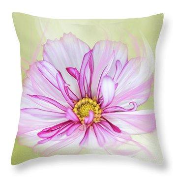 Floral Wonder Throw Pillow