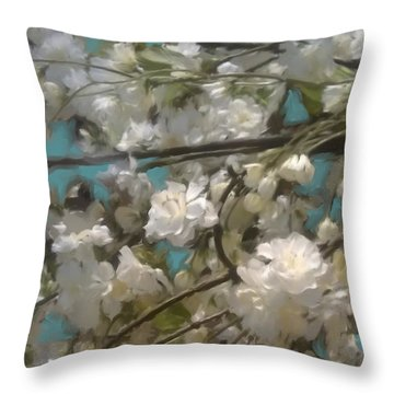 Floral01 Throw Pillow